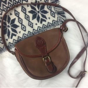 Timberland Mini Crossbody Brown Bag